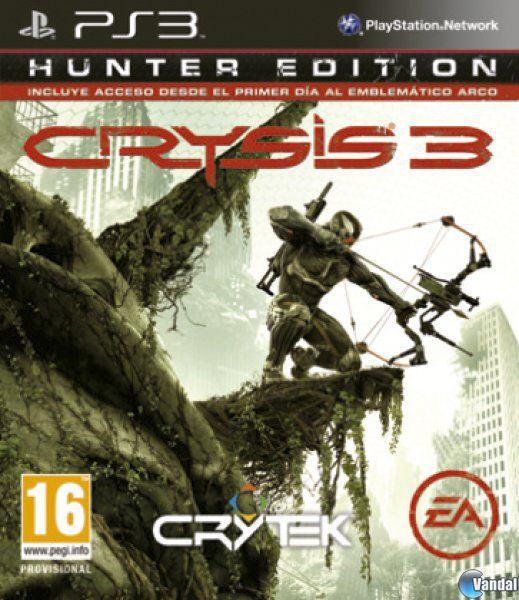 Cartula Crysis 3 PlayStation 3