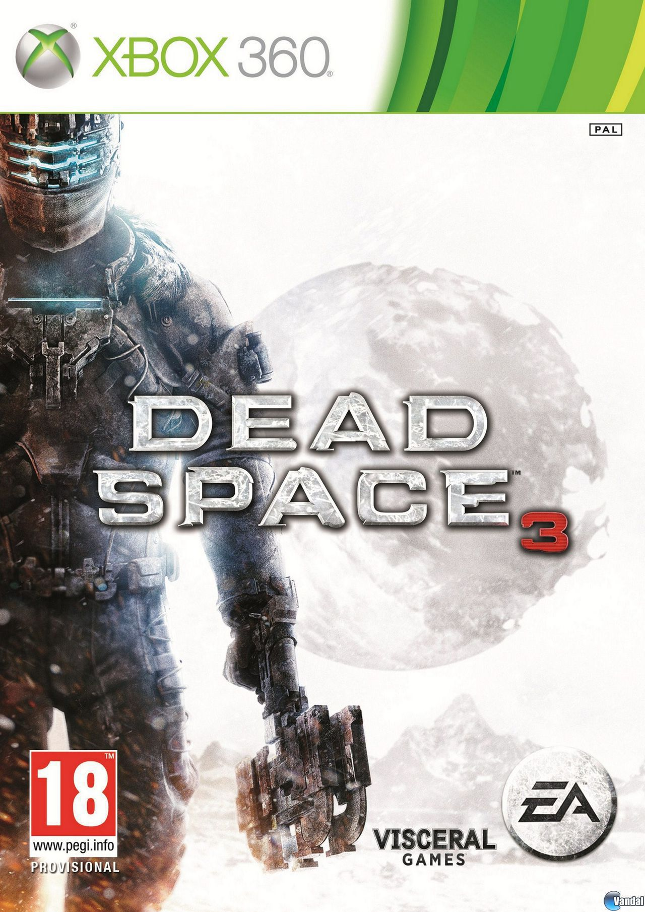 Cartula Dead Space 3 Xbox 360