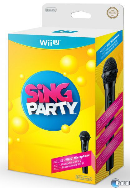 Car�tula Sing Party Wii U