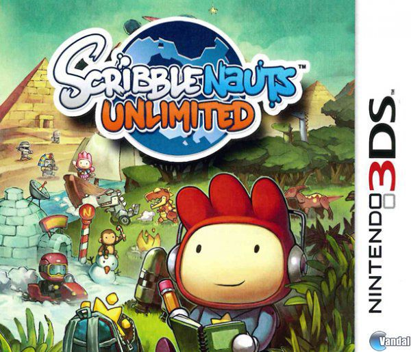 Car�tula Scribblenauts Unlimited Nintendo 3DS