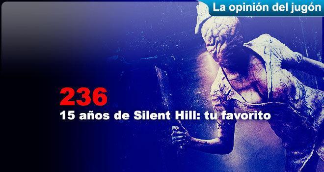 15 a�os de Silent Hill: tu favorito para