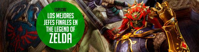 Los mejores jefes finales en The Legend of Zelda