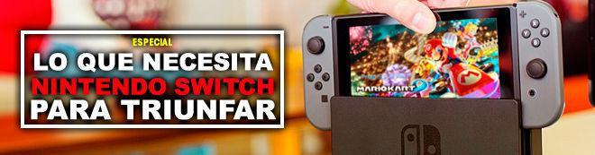Lo que necesita Nintendo Switch para triunfar