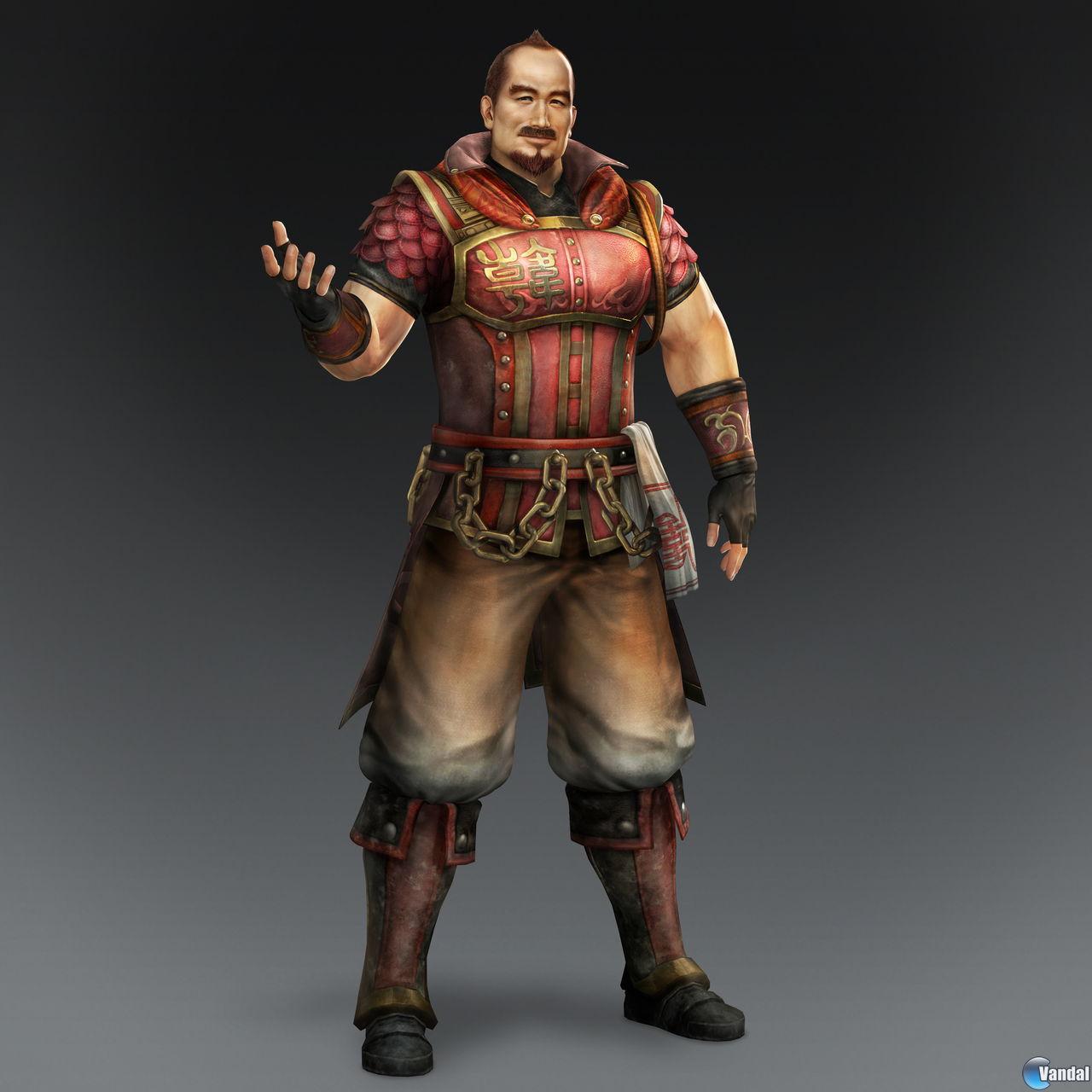Lu Bu Warriors Orochi 3 Ultimate: Personajes De Dynasty Warriors 8.