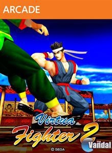 Car�tula Virtua Fighter 2 XBLA Xbox 360