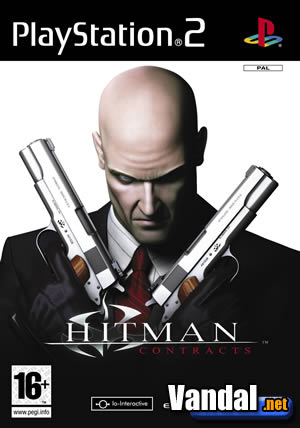 Carátula de Hitman Contracts para PlayStation 2