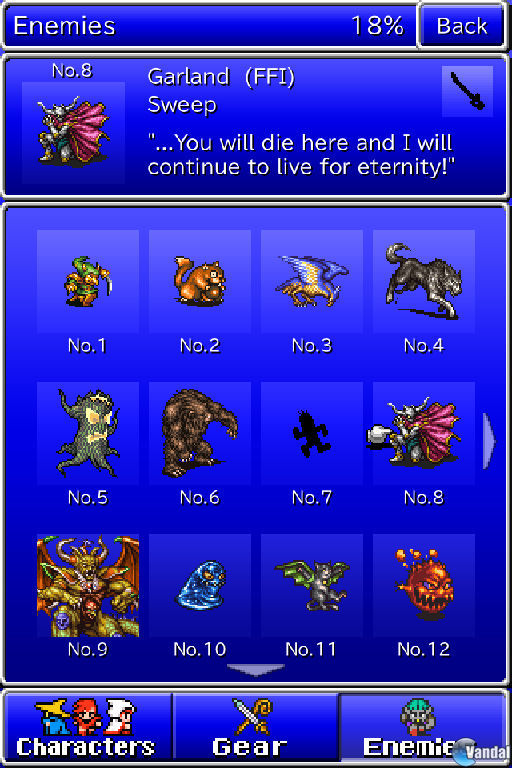 Imagen 4 de Final Fantasy: All The Bravest para iPhone