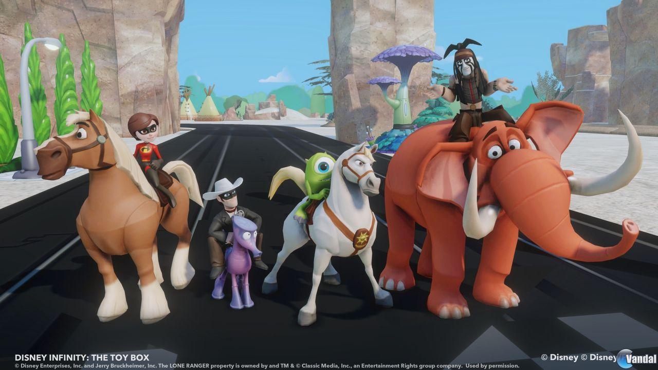 Imagen 19 de Disney Infinity para Wii