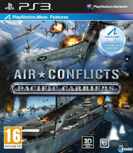 Car�tula Air Conflicts: Pacific Carriers PlayStation 3