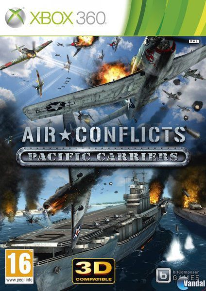 Car�tula Air Conflicts: Pacific Carriers Xbox 360