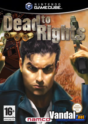 Cartula Dead to Rights GameCube