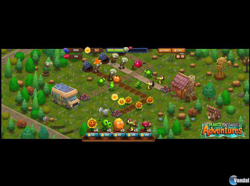 Imagen 3 de plants vs zombies adventures para ordenador