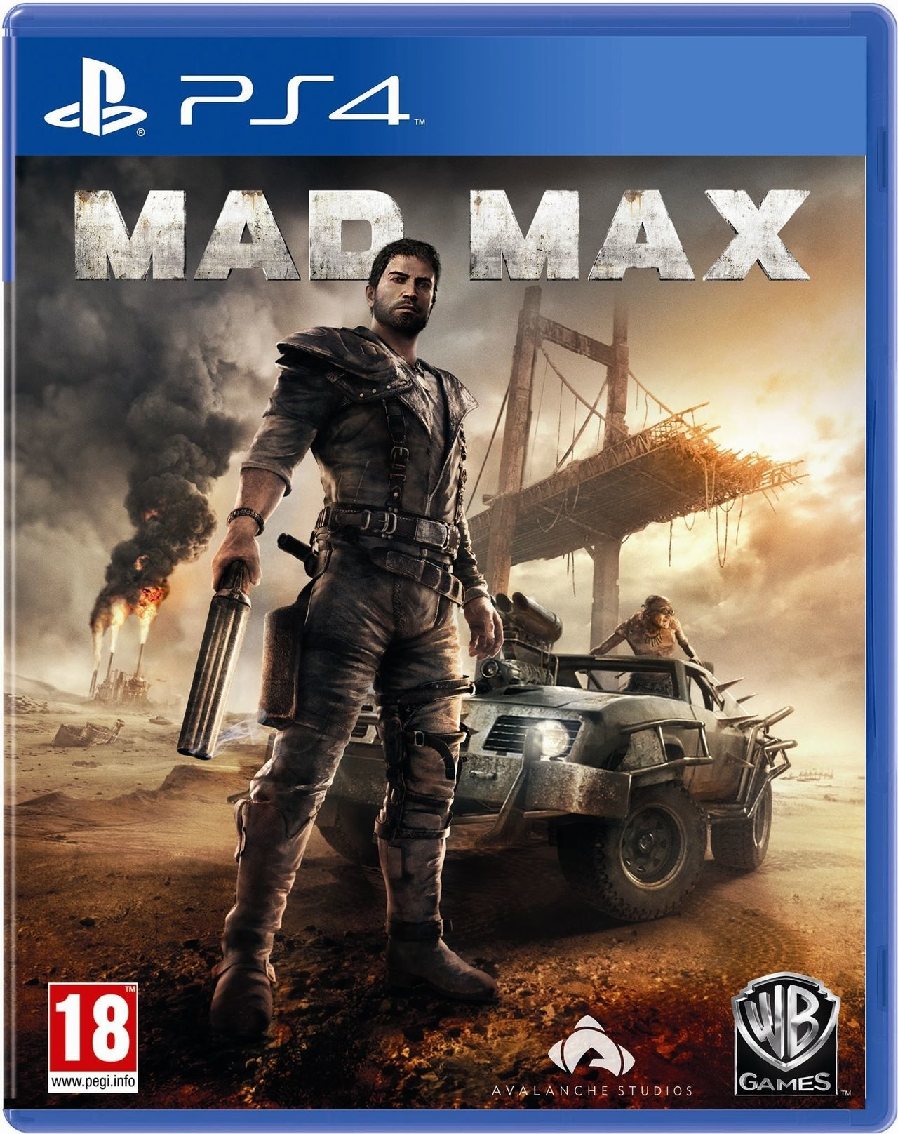 Resultado de imagen de Videojuego Mad Max Para PlayStation 4