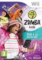Carátula Zumba Kids para Wii
