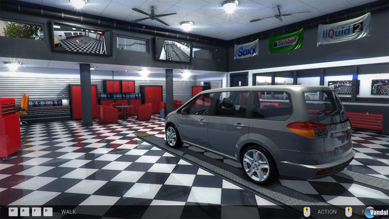 M dor gamer car mechanic simulator - Simulador gastos compra plaza garaje ...