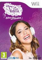 Carátula Violetta para Wii