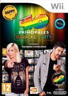 Carátula Los 40 Principales Karaoke Party para Wii