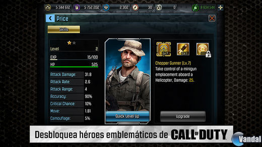 Imagen 1 de Call of Duty: Heroes para iPhone