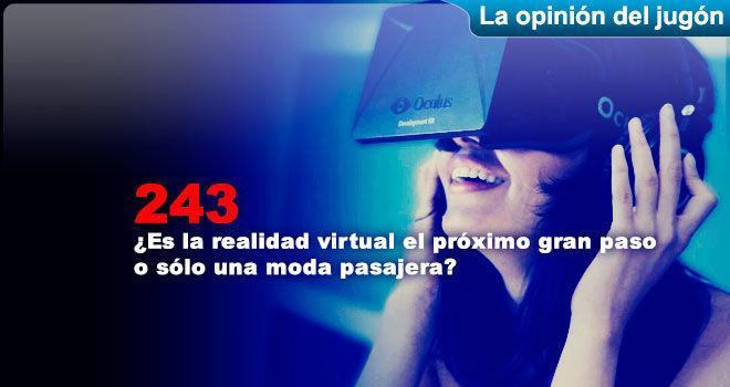 �Es la realidad virtual el pr�ximo gran paso o s�lo una moda pasajera? para