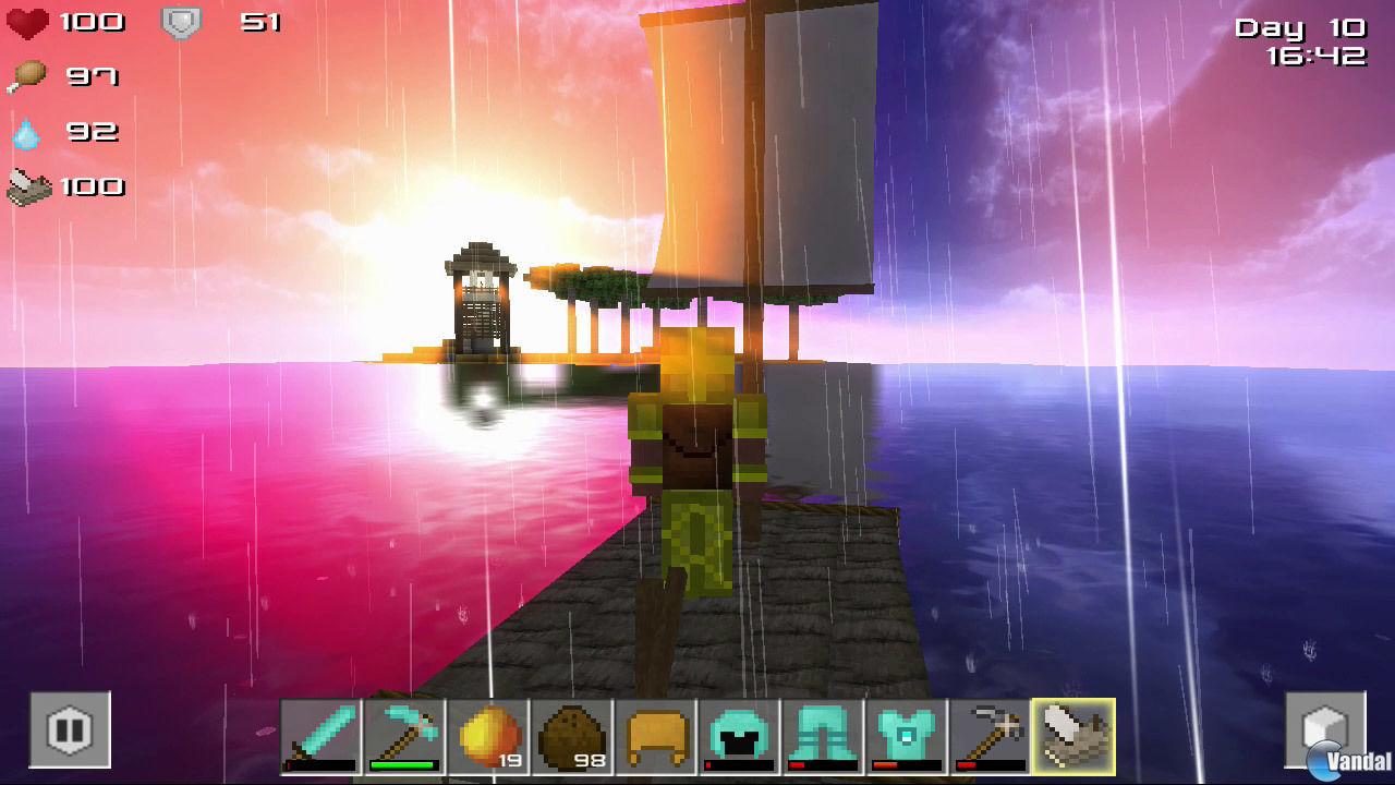 cube life island survival toda la informaci n ps4 wii u switch pc vandal. Black Bedroom Furniture Sets. Home Design Ideas