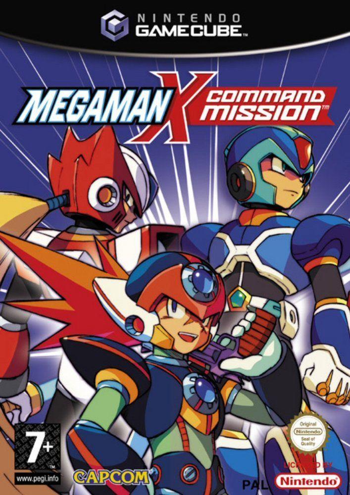 Megaman x command mission toda la informaci n gamecube for Megaman 9 portada