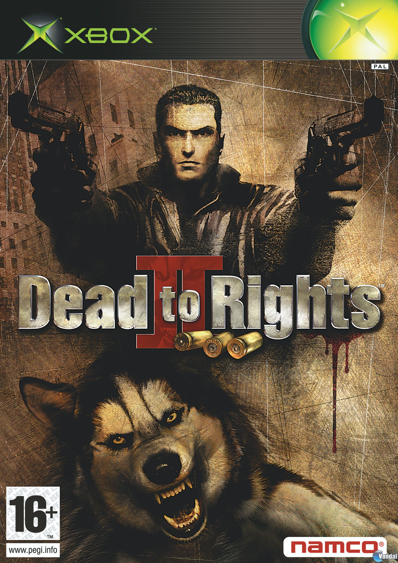 Carátula de Dead to Rights 2 para Xbox
