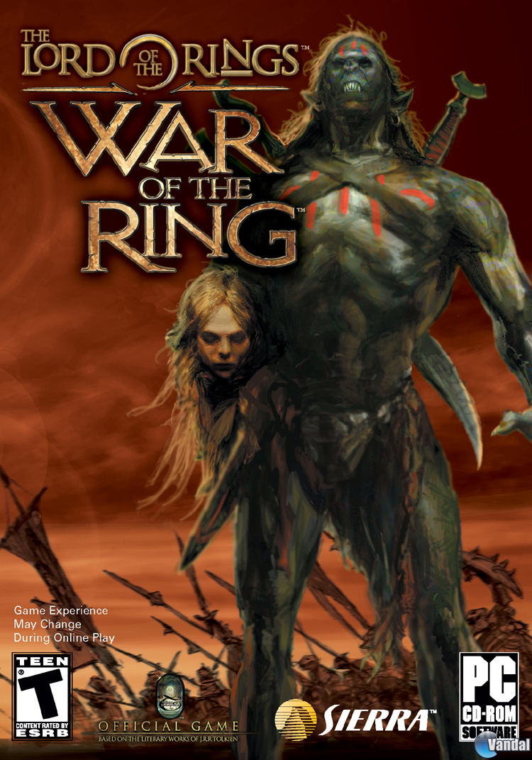 Ranking Lord The Rings Pc Games