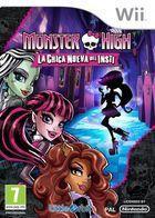 Carátula Monster High: La Chica Nueva del Insti para Wii