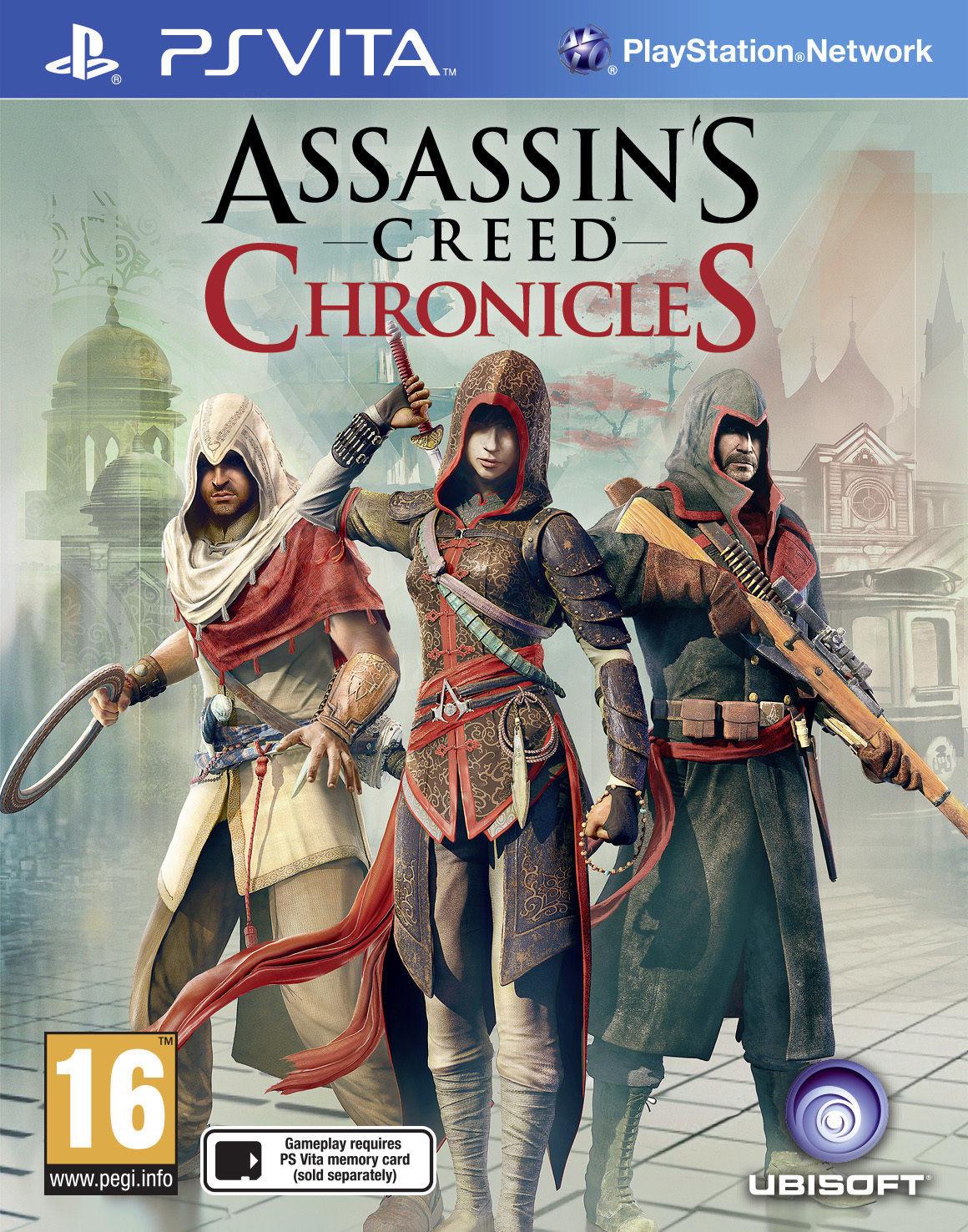 Resultado de imagen de Videojuego Assassins Creed Chronicles para PS Vita