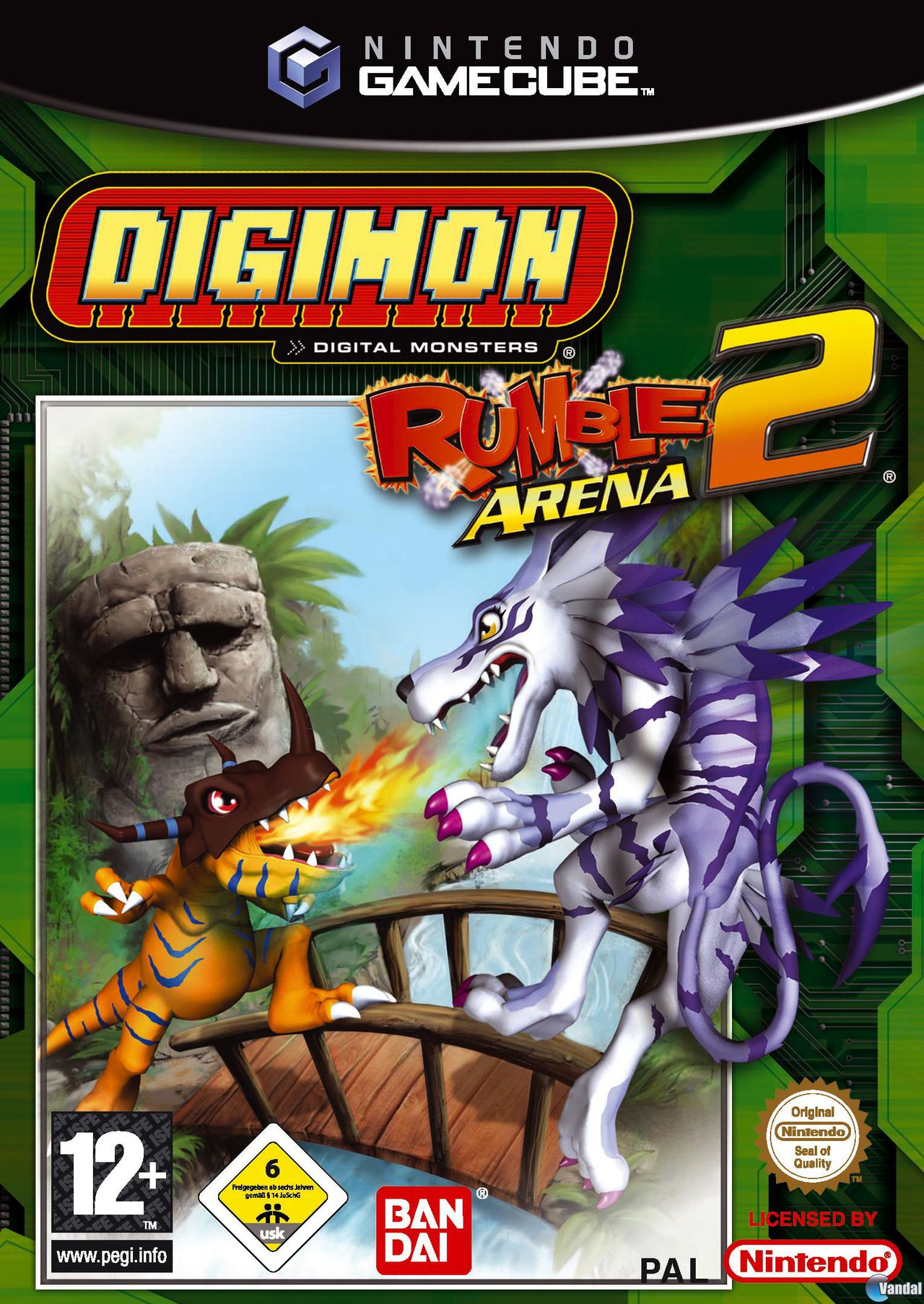 Digimon Rumble Arena ROM (ISO) Download for Sony Playstation / PSX