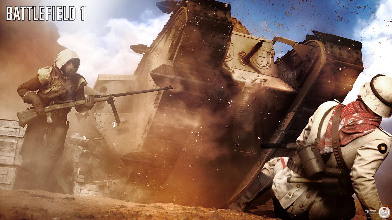 Desierto del Sinaí Battlefield 1