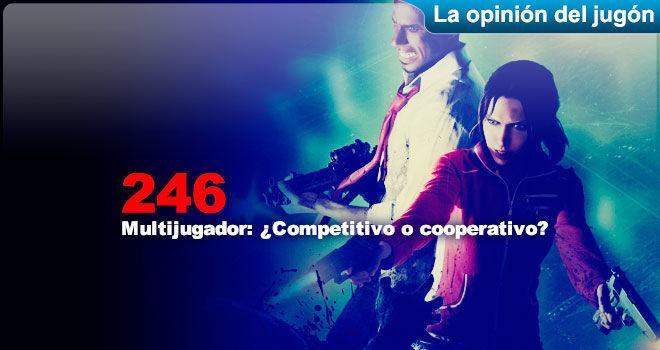 Multijugador: �Competitivo o cooperativo? para