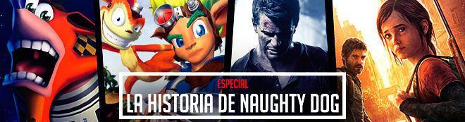 La historia de Naughty Dog
