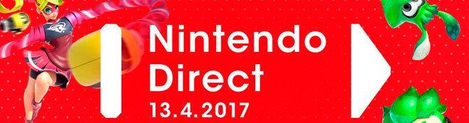 Nintendo Direct abril 2017