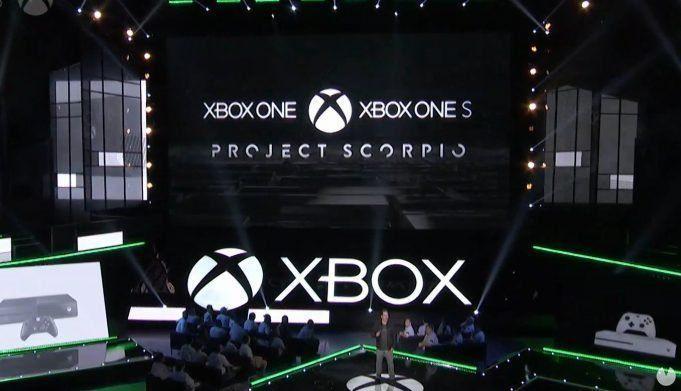 Project Scorpio en el momento de ser anunciada en el E3 2016