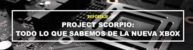 Xbox Scorpio - GUÍA DE COMPRA: Lanzamiento, precio, detalles, juegos...