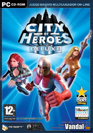 Cartula City of Heroes Ordenador