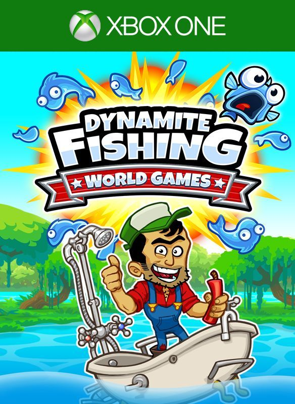 Dynamite fishing world games toda la informaci n xbox for Xbox fishing games