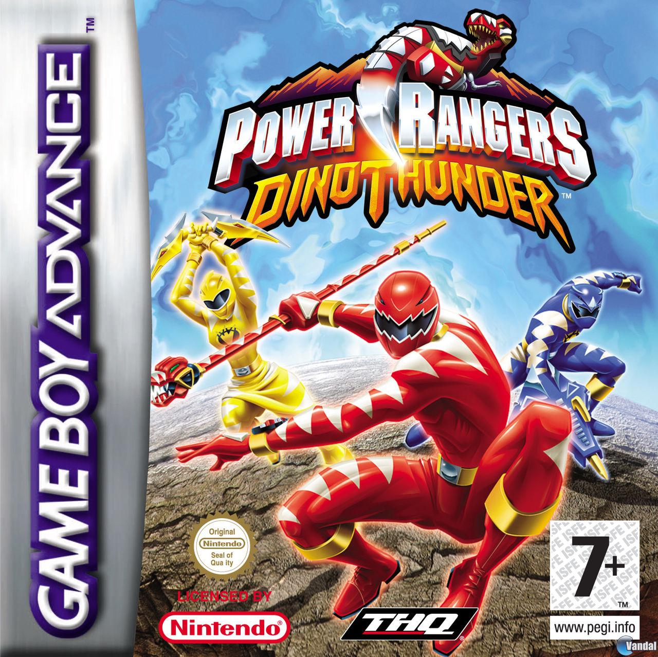 Resultado de imagen para Power Ranger Dino Thunder gba