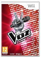 Carátula La Voz - Quiero tu voz para Wii