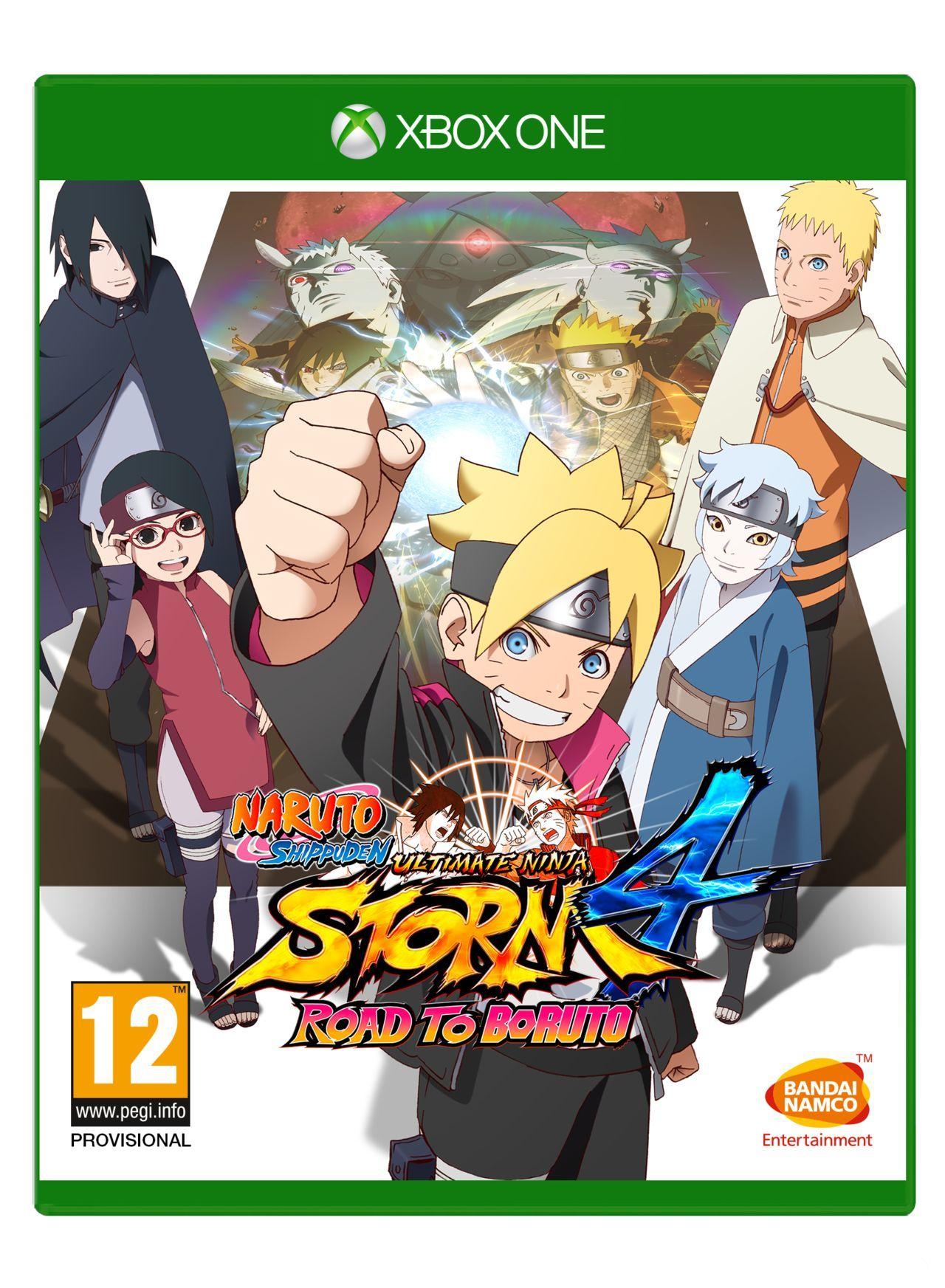 Resultado de imagen de Videojuego Naruto Ultimate Ninja Storm 4 Xbox One
