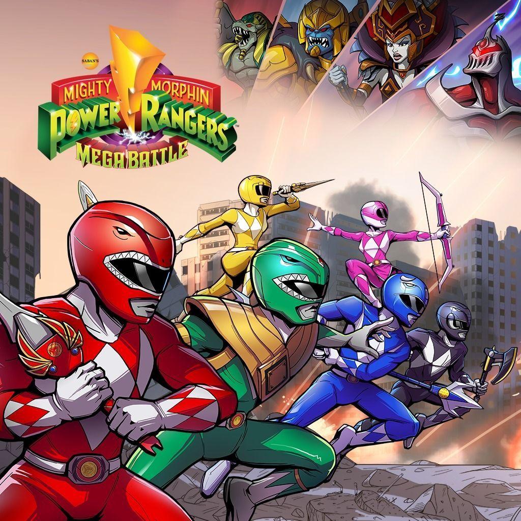 Mighty Morphin Power Rangers Mega Battle TODA la informacin