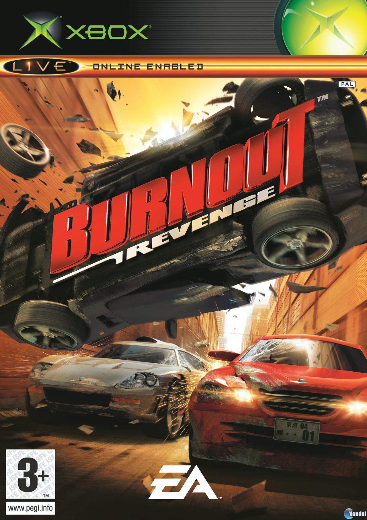 Xbox Clasico Iso S Por Mega Burnout Revenge Mega