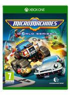 Carátula Micro Machines World Series para Xbox One