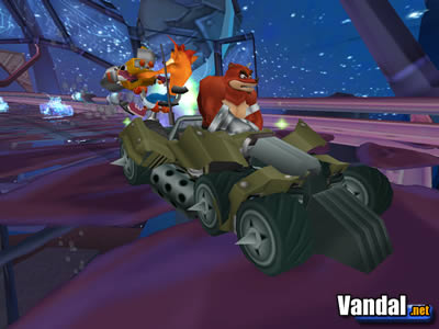 Imagen 4 de Crash Tag Team Racing para Xbox