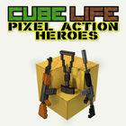 Carátula Cube Life: Pixel Action Heroes  eShop para Wii U