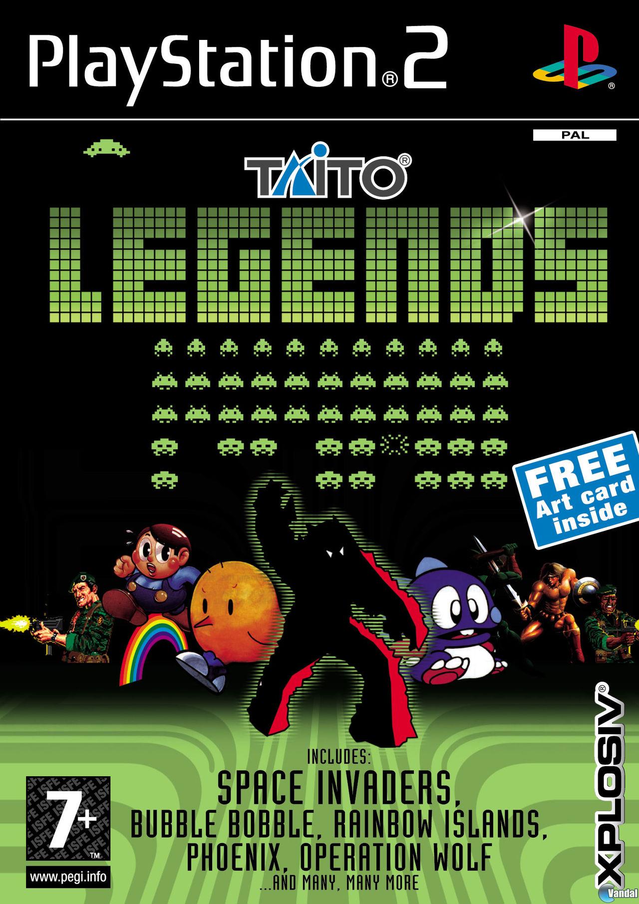 Imagen Taito Legends Ps2 Imagen 1