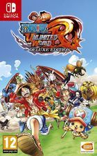 Carátula One Piece Unlimited World -  Red Deluxe Edition para Nintendo Switch