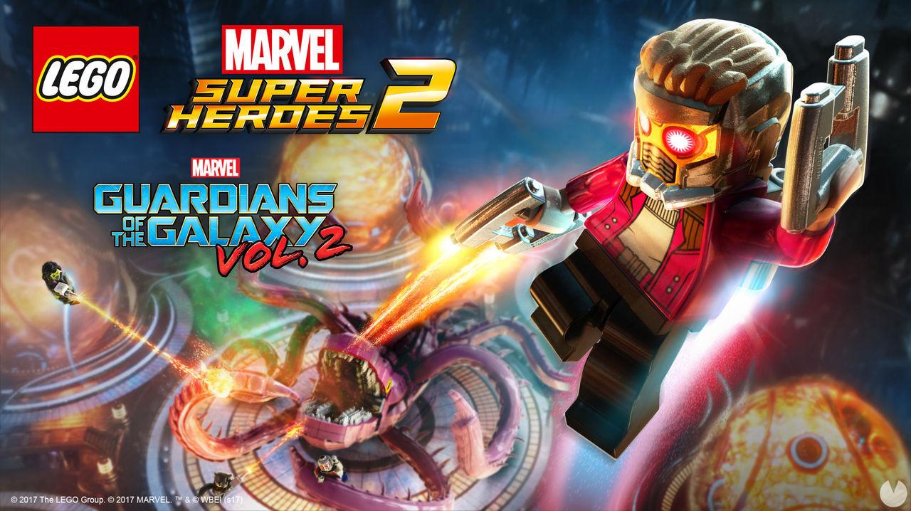 LEGO Marvel Super Heroes 2 añade un DLC inspirado en Guardianes de la Galaxia Vol. 2