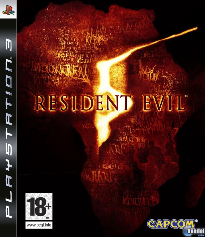 Car�tula Resident Evil 5 PlayStation 3